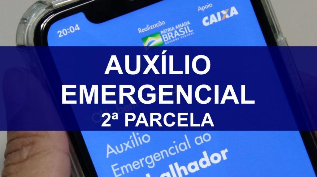 Calendário de saques da 2ª parcela do Auxílio Emergencial; confira!